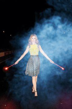 Nicole Kidman's Wild Ride - Lanvin Dress