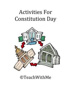 Classroom Freebies: More Activities For Constitution Day