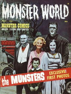 On the cover of Monster World Magazine