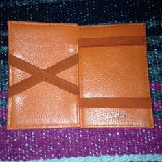 J Crew folding card holder Orange and pink. It flips really cool from each color magically :) brand new ! J. Crew Bags Wallets