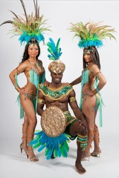 AZTEC  Carnival Nationz for Caribana 2012! ... and my section!
