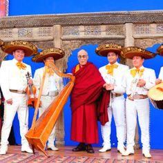 Dali Lama in Mexico!