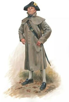 Officer of 5th Massachusetts Regiment, winter 1777, by the amazing Don Troiani