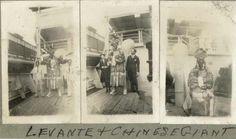 [Levante and Chinese giant], ca.1929. Collection: State Library of Victoria.