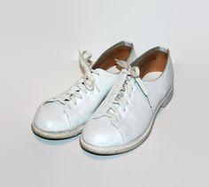 Hush Puppy Court Shoe White