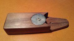 walnut, bottle opener