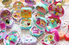 no Figures Collectable Yet Not Vulgar Honesty X 2 Book Shaped Vintage Polly Pocket Cases