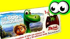 Surprise Eggs with Toys from THE GOOD DINOSAUR  Disney Pixar Movie  좋은 공룡에서 완구 깜짝 계란