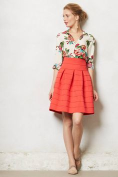 Ponte Bell Skirt - anthropologie.com