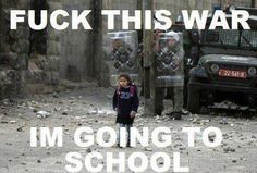 photo unknown (but lol, damn right this girl and every child has the right to education without having to fear for their lives)