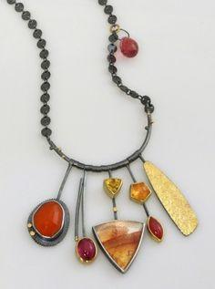 Sydney Lynch, artisan jeweler; sterling & gems.