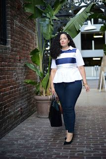girl with curves: cropped Curvy Girl Fashion, Look Fashion, Plus Size Fashion, Fashion Tips, Looks Plus Size, Look Plus, Plus Size Dresses, Plus Size Outfits, Garner Style