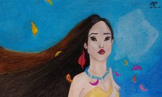 Pocahontas, one of my favourite disney movies when I was a child.