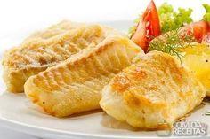 Receita de Filés de pescada ao forno em Peixes, veja essa e outras receitas aqui!