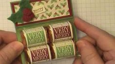 Simply Simple HERSHEY NUGGET GIFT BOX by Connie Stewart - YouTube
