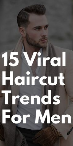 15 Viral Haircuts Men Should Definetly To Copy In 2019 Latest Haircut For Men, Latest Haircuts, Trending Haircuts, Popular Mens Hairstyles, Cool Hairstyles For Men, Boy Hairstyles, Hot Haircuts, Best Short Haircuts, Horrible Haircuts