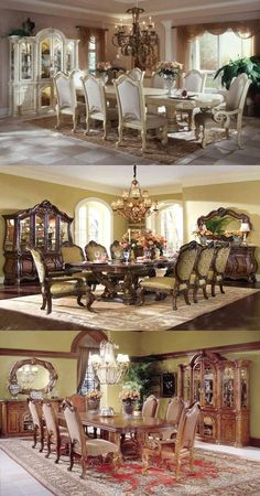 Charming, luxury, smooth and glamorous are the qualities of Aico furniture. Here we will offer you various designs from Aico furniture for classic dining room. Designs and features of Aico: Most of…