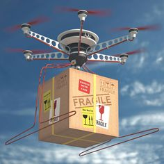 The last mile is seeing disruption from new business models that address customer demand for ever-faster delivery, as well as new technologies such as drones and autonomous ground vehicles. Drones, Warehouse Management System, Supply Chain Logistics, Smart Textiles, Last Mile, Future Transportation, Delivery Photos, Drone Technology, Business Intelligence