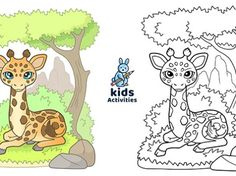 Free Animal printable coloring pages for kids