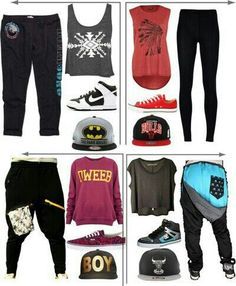 Things to wear at monsters of hip hop :) Hip Hop Dancer Outfits, Hip Hop Outfits, Swag Outfits, Dance Outfits, Dancing Outfit, Sport Outfits, Dance Fashion, Hip Hop Fashion, Urban Fashion