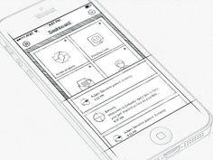 Inspiration Mobile #16 : Croquis et Wireframes | Blog du Webdesign