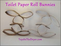 Toilet Paper Roll Bunnies - OMG! How cute are these?!?!