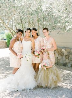 Adorable Lilly Pulitzer bridesmaid dresses. Photo by KT Merry Photography. www.wedsociety.com #wedding #bridesmaids