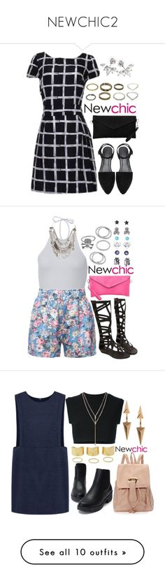 """""""NEWCHIC2"""" by adc421 on Polyvore featuring women's clothing, women, female, woman, misses, juniors, adidas Originals, Vince Camuto, Topshop and Acne Studios"""