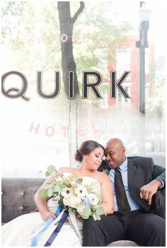 quirk hotel, downtown richmond wedding photographer, sarah and dave photography, bride and groom