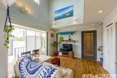 SURFER'S HOUSE in 一宮 Coastal Cottage, Elmo, Luxury Living, Living Room, Interior, House, Furniture, Ideas, Home Decor