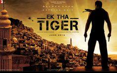 Ek Tha Tiger Bollywood Block Baster Movie Poster HD Wallpaper #2  http://www.hdwallpaperszone.net/ek-tha-tiger-poster-2-wallpapers.html