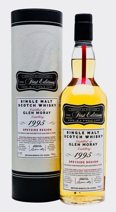 GLEN MORAY 1995 21 Year Old First Editions, Speyside