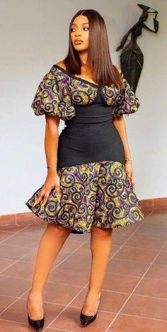 Ankara Fashion, African Fashion, Fashion Outfits, Corporate Wear, Ankara Gowns, Ankara Styles, Classy Dress, Blouse Styles, African Dress