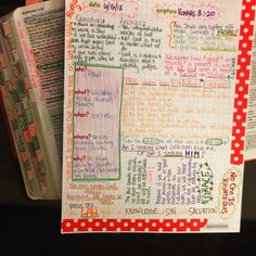 Day 6 in my Romans Scripture Journal.  I LOVE these journal pages - super helpful for structuring my pages.  You can get them at Farm Girl Journals on Etsy :)