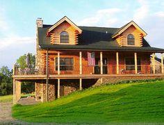 Allegany Log Homes Houghton, NY