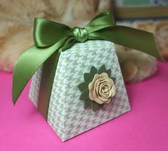 Free template: Favor box for Weddings & events.