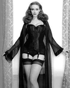 Christina Hendricks <3 She is my exact body double.. well according to the websites measurements.. :) I weigh about 7 pounds less however. ( I am posting this in exercise to remind myself that I am PERFECT the way I am) She got voted most beautiful woman.. and we are both Taurus.. so .. yeah I am voluptuous... apparently its catching on again..