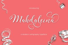 Mahdaleina Typeface by thirtypath on @creativemarket