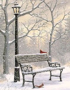 Good Evening ladies, thank you so much for your pins today. Tonight and Wednesday, let's pin WINTER ART. Winter Szenen, I Love Winter, Winter Wonder, Winter Park, Winter Pictures, Christmas Pictures, Winter Images, Christmas Scenes, Christmas Art