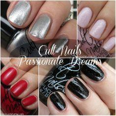 Cult Nails Passionate Dreams Nail Polish Swatches