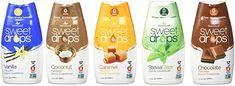 Amazon.com : SweetLeaf Sweet Drops Liquid Stevia Variety 5 Pack 1.7 fl. oz each : Grocery & Gourmet Food