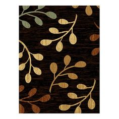 United Weavers 560 11770 Traces Collection Area Rug, Sutra Black  Traces Collection Area Rug, Sutra BlackJute BackingPile Height: 10mm ,