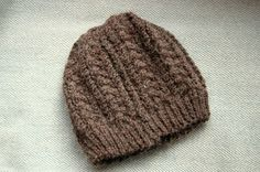 The Fuzzy Square: Cable Hat