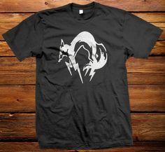 Fox Hound Logo Metal Gear Solid MSG Shirt by unlimitedshirts, $13.89