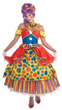 Belle Of The Big Top Costume - Clown Costumes