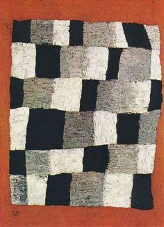 Paul Klee (1879-1940), Rythmisches aka Rythmical (Rhythmic aka Rhythmical), 1930 (203). Oil on canvas. 68.9cm H x 50.48cm W.