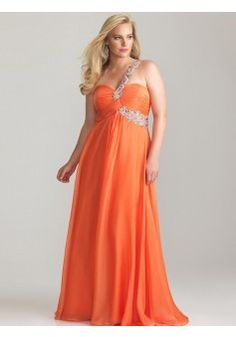 A-line One Shoulder Chiffon Orange Plus Size Prom Dresses/Evening Dress With Beading #FC494 - See more at: http://www.victoriasdress.com/prom-dresses/plus-size-prom-dresses.html?p=3#sthash.BEz3ZwFl.dpuf
