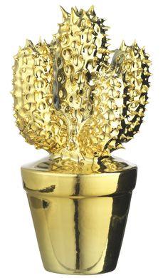 dor madam cactus dor objets de de chez en porcelaine de dcoration salon scandinave porcelaine dor cactus cactus
