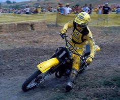 Glover on a 125.