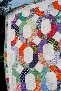 So, I may or may not make another quilt, but if I do.... I <3 this pattern!